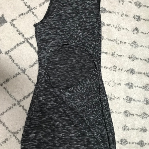 Salt and pepper tight fitted mini dress